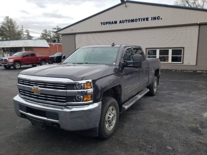 2015 Chevrolet Silverado 2500HD for sale at Topham Automotive Inc. in Middleboro MA