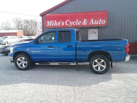 2007 Dodge Ram Pickup 1500 for sale at MIKE'S CYCLE & AUTO in Connersville IN