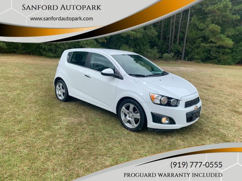 2016 Chevrolet Sonic for sale at Sanford Autopark in Sanford NC