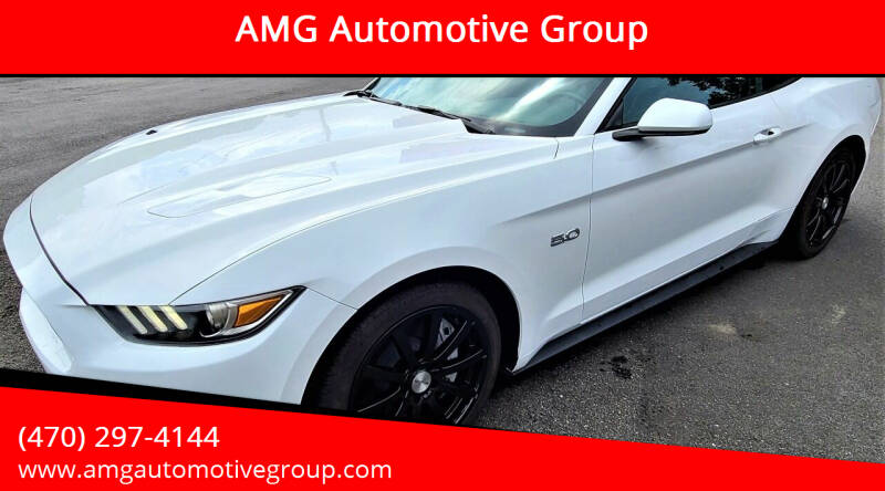 2017 Ford Mustang for sale at AMG Automotive Group in Cumming GA