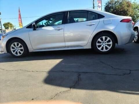 2020 Toyota Corolla for sale at Rey's Auto Sales in Stockton CA
