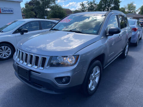 2016 Jeep Compass for sale at Chilson-Wilcox Inc Lawrenceville in Lawrenceville PA