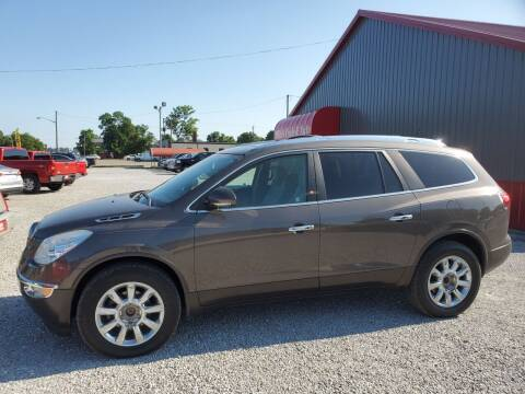 2012 Buick Enclave for sale at MIKE'S CYCLE & AUTO in Connersville IN