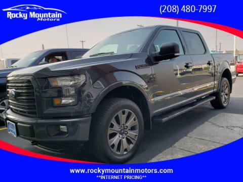 2016 Ford F-150 for sale at Rocky Mountain Motors in Idaho Falls ID