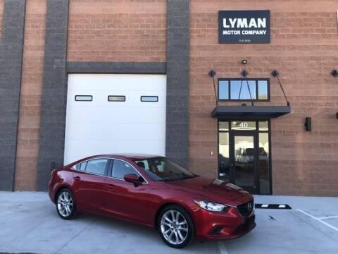 2016 Mazda MAZDA6 for sale at Lyman Motor Company in Centerville UT
