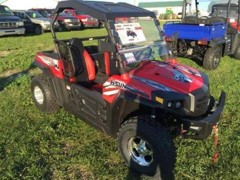 2015 HiSun Strike 250 for sale at Toy Barn Motors - Youth Atv's/Side by Sides/Dirt Bikes in New York Mills MN