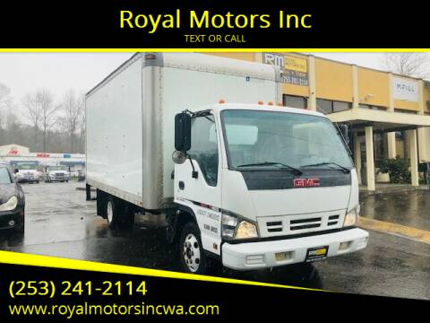 2007 GMC W4500 for sale at Royal Motors Inc in Kent WA