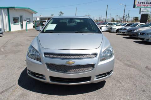 2010 Chevrolet Malibu for sale at Jamrock Auto Sales of Panama City in Panama City FL
