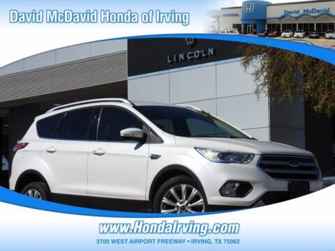 2017 Ford Escape for sale at DAVID McDAVID HONDA OF IRVING in Irving TX