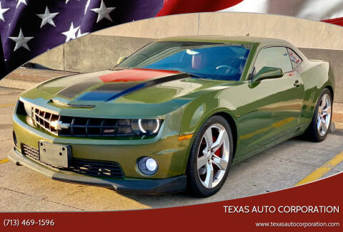 2010 Chevrolet Camaro for sale at Texas Auto Corporation in Houston TX