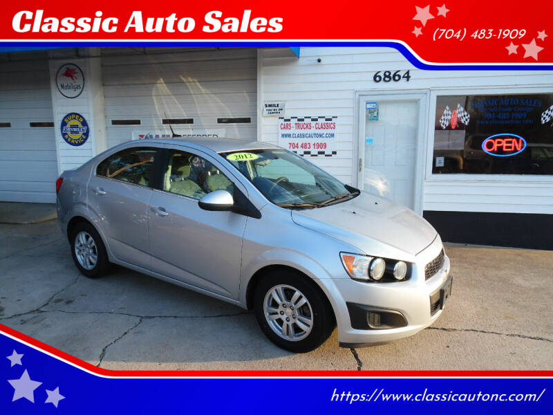 2012 Chevrolet Sonic for sale at Classic Auto Sales in Maiden NC