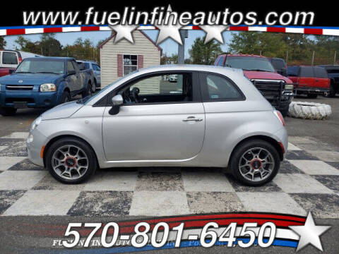 2012 FIAT 500 for sale at FUELIN FINE AUTO SALES INC in Saylorsburg PA