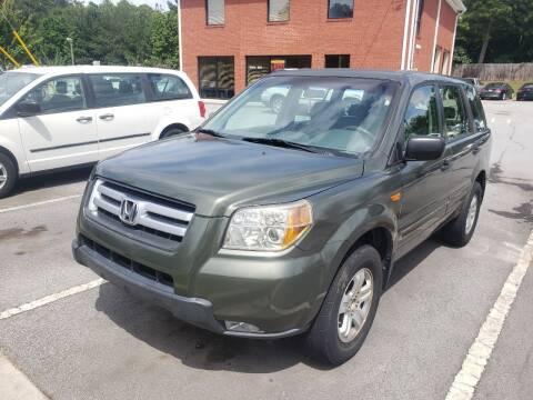2006 Honda Pilot for sale at Credit Cars LLC in Lawrenceville GA