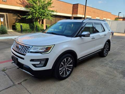 2016 Ford Explorer for sale at DFW Autohaus in Dallas TX