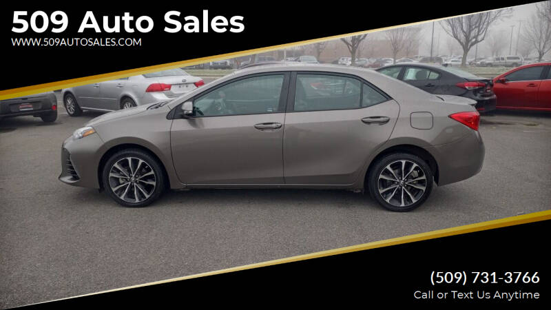 2017 Toyota Corolla for sale at 509 Auto Sales in Kennewick WA