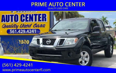 2013 Nissan Frontier for sale at PRIME AUTO CENTER in Palm Springs FL