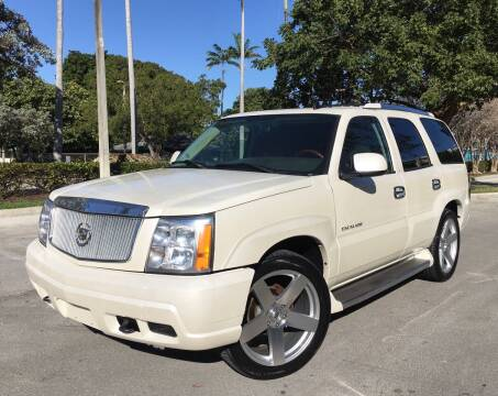 2006 Cadillac Escalade for sale at FIRST FLORIDA MOTOR SPORTS in Pompano Beach FL