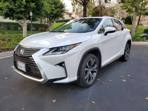 2017 Lexus RX 450h for sale at E MOTORCARS in Fullerton CA