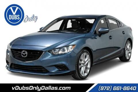 2015 Mazda MAZDA6 for sale at VDUBS ONLY in Dallas TX