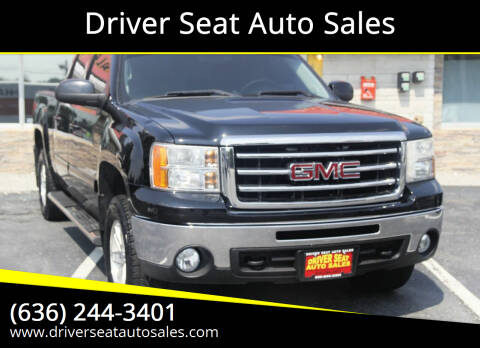 2013 GMC Sierra 1500 for sale at Driver Seat Auto Sales in Saint Charles MO