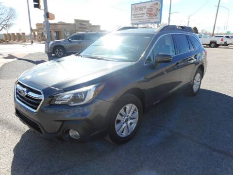 2019 Subaru Outback for sale at AUGE'S SALES AND SERVICE in Belen NM