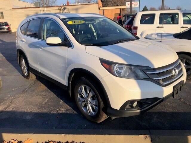 2013 Honda CR-V for sale at RT Auto Center in Quincy IL