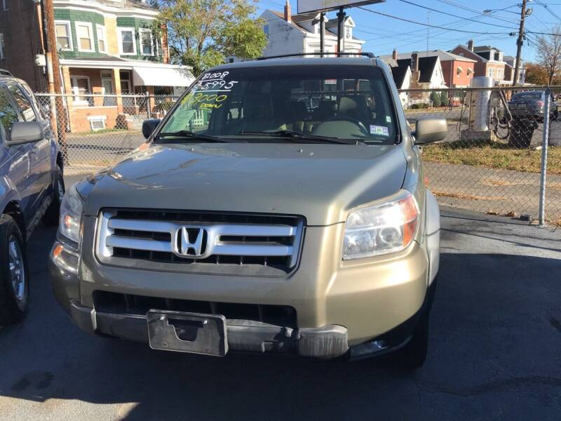 2008 Honda Pilot for sale at Chambers Auto Sales LLC in Trenton NJ