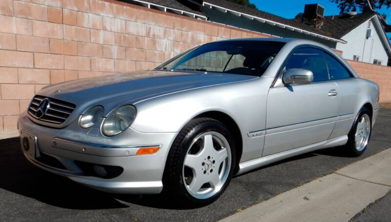 2002 Mercedes-Benz CL-Class for sale at MILFORD AUTO SALES INC in Hopedale MA