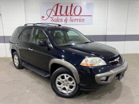 2002 Acura MDX for sale at Auto Sales & Service Wholesale in Indianapolis IN