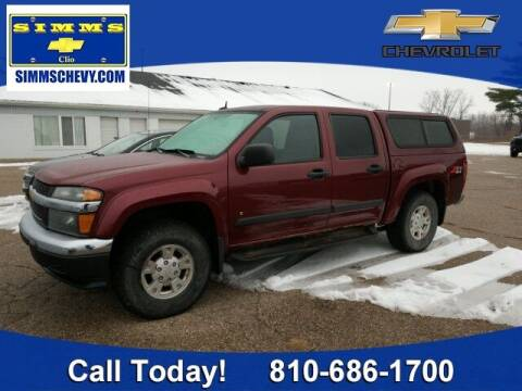 2008 Chevrolet Colorado for sale at Aaron Adams @ Simms Chevrolet in Clio MI