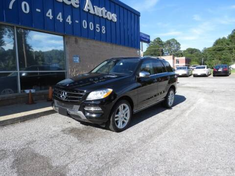 2014 Mercedes-Benz M-Class for sale at Southern Auto Solutions - 1st Choice Autos in Marietta GA