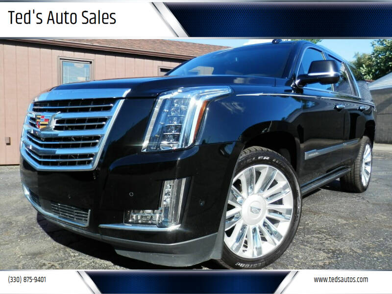 2019 Cadillac Escalade for sale at Ted's Auto Sales in Louisville OH