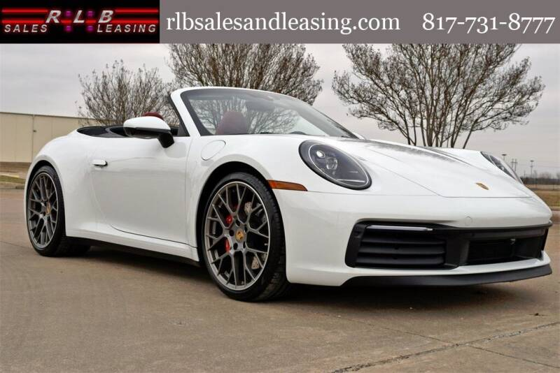 2021 Porsche 911 for sale at RLB Sales and Leasing in Fort Worth TX