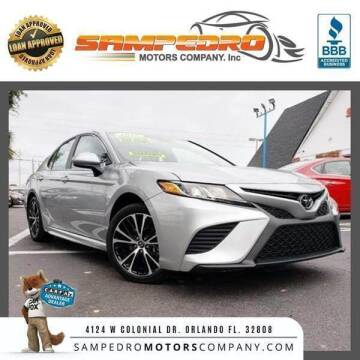 2018 Toyota Camry for sale at SAMPEDRO MOTORS COMPANY INC in Orlando FL