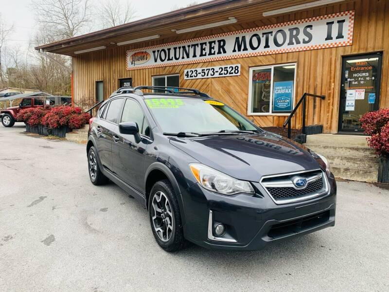 2017 Subaru Crosstrek for sale at Kerwin's Volunteer Motors in Bristol TN