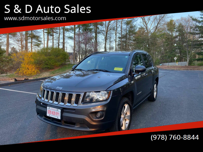 2015 Jeep Compass for sale at S & D Auto Sales in Maynard MA