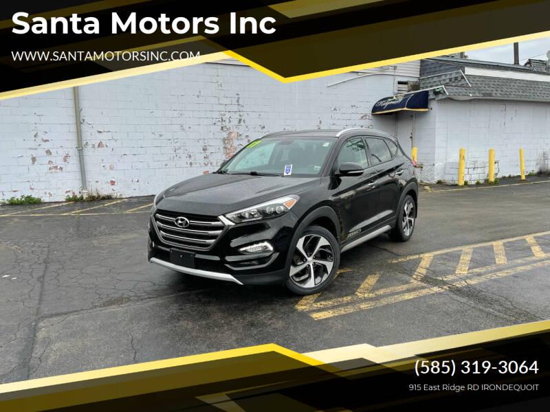 2017 Hyundai Tucson for sale at Santa Motors Inc in Rochester NY