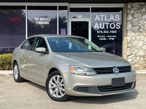 2014 Volkswagen Jetta for sale at ATLAS AUTOS in Marietta GA