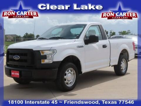 2016 Ford F-150 for sale at Ron Carter  Clear Lake Used Cars in Houston TX