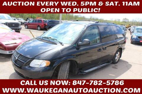 2007 Dodge Grand Caravan for sale at Waukegan Auto Auction in Waukegan IL