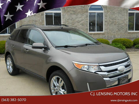 2013 Ford Edge for sale at C.J. Lensing Motors Inc in Decorah IA