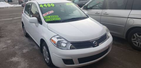 2009 Nissan Versa for sale at TC Auto Repair and Sales Inc in Abington MA