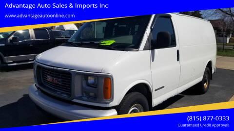 2001 GMC Savana Cargo for sale at Advantage Auto Sales & Imports Inc in Loves Park IL