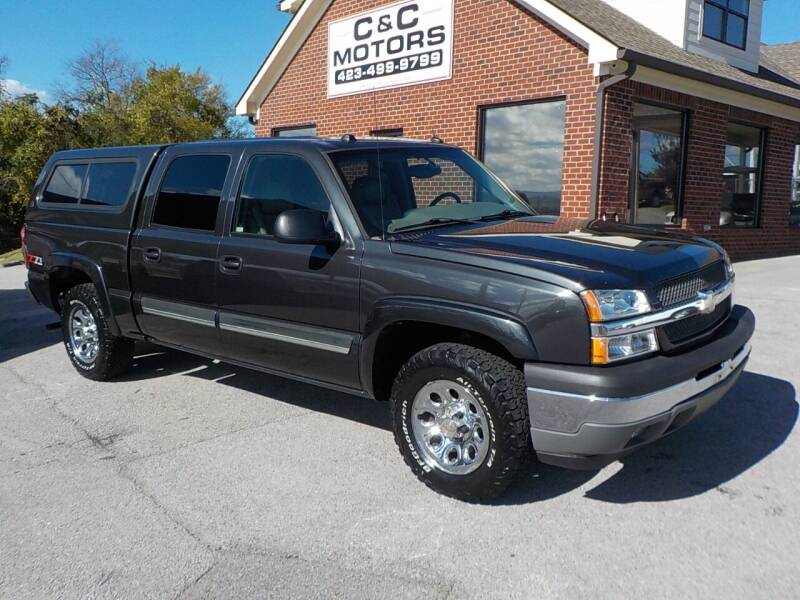 2005 Chevrolet Silverado 1500 for sale at C & C MOTORS in Chattanooga TN