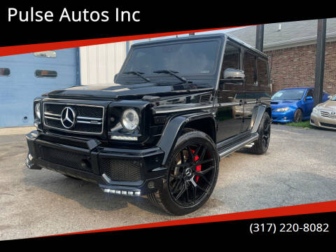 2014 Mercedes-Benz G-Class for sale at Pulse Autos Inc in Indianapolis IN