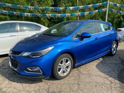 2018 Chevrolet Cruze for sale at Matt Jones Preowned Auto in Wheeling WV