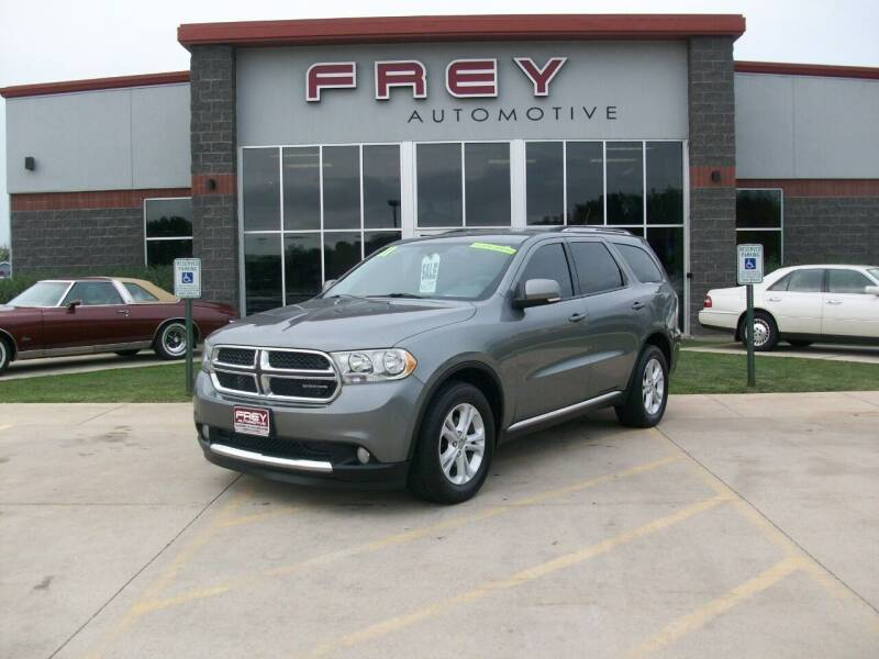 2011 Dodge Durango for sale at Frey Automotive in Muskego WI