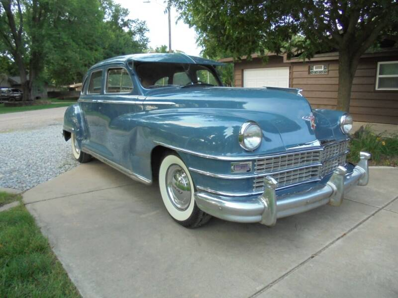 1948 Chrysler Windsor for sale at D & P Sales LLC in Wichita KS