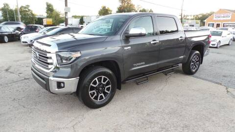 2019 Toyota Tundra for sale at Unlimited Auto Sales in Upper Marlboro MD