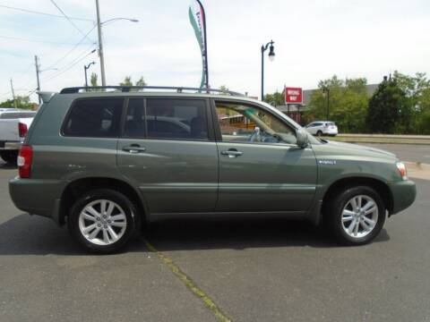 2007 Toyota Highlander Hybrid for sale at Broadway Auto Services in New Britain CT